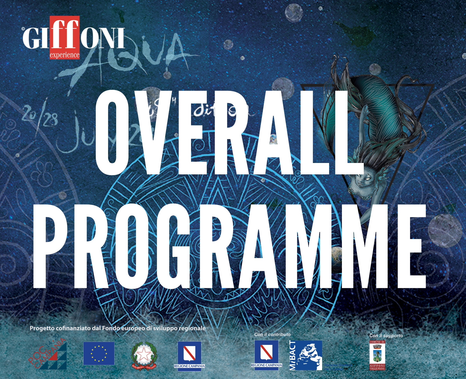 OVERALL PROGRAMME 2018