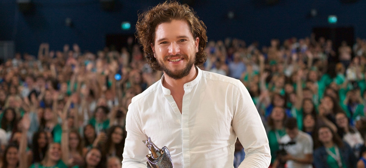 Kit Harington King of Gff 2017: Game of Thrones star receives the Giffoni Experience Award