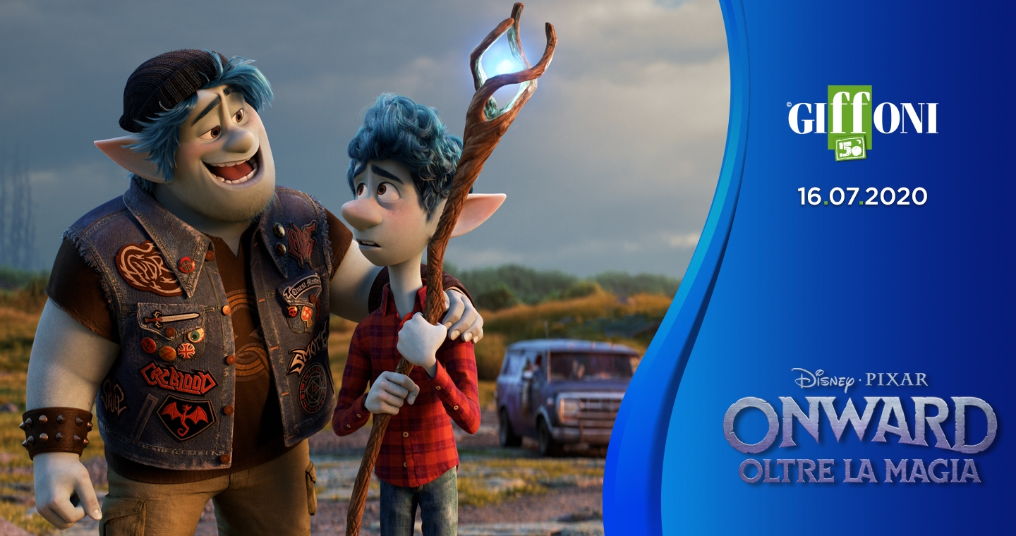 Cinema starts from #Giffoni50 with Pixar Animation Studios: the premiere of the Disney Pixar film Onward on july 16