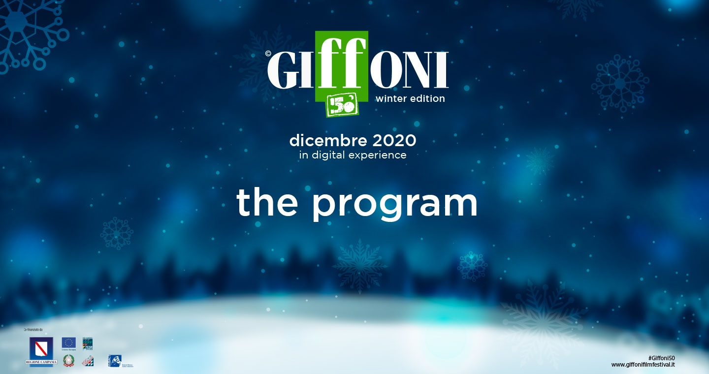 #Giffoni50 - Winter Edition: Here's the program