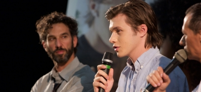 Nick Robinson at GFF 2017 for the national preview of Everything, Everything