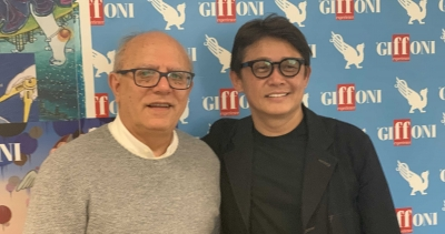 Giffoni welcomes Mitsuo Tahira: the Tokyo Kineko Film Festival director visited the Multimedia Valley