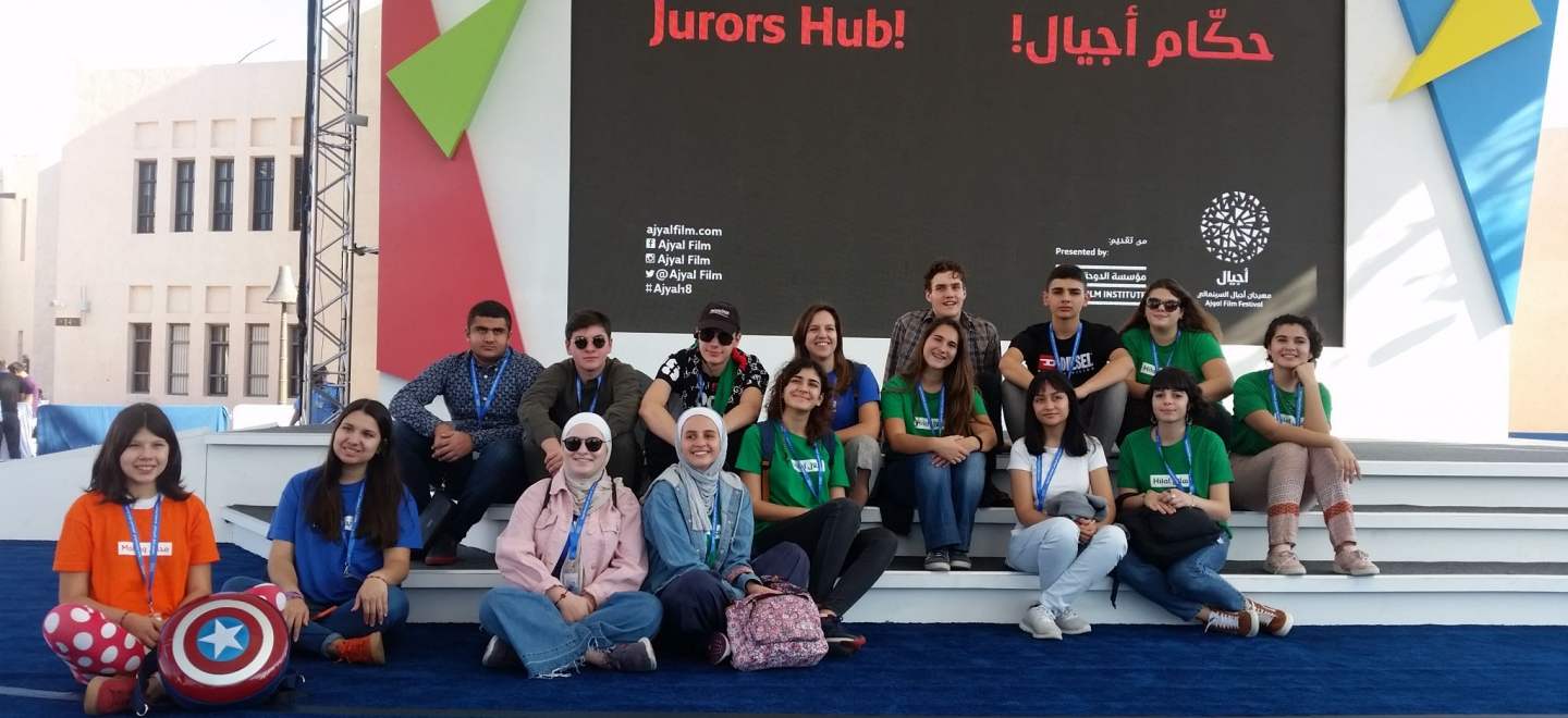 "The diary of the five jurors at the Ajyal Film Festival: ""Giffoni has opened the door to a new world"""