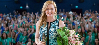 "Amy Adams Receives The Giffoni Experience Award At Gff 2017: ""I Was Looking Forward To Being Here"""
