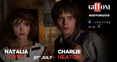 NATALIA DYER and CHARLIE HEATON are set to meet the giffoners on July 21st