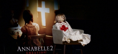 """Annabelle 2: Creation"" international preview frightens GFF 2017 jurors"