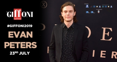 Evan Peters will meet hundreds of giffoners at 49 Giffoni Film Festival on the 23th of July