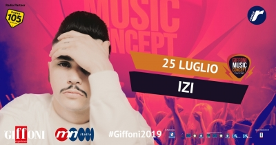 Izi: the new rap phenomenon at the #Giffoni2019 on july 25th