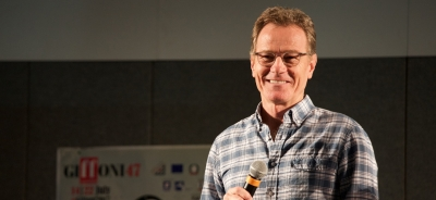 """Professor"" Bryan Cranston meets the Giffoners: ""This is among the few events in the world I've ever wanted to attend"""