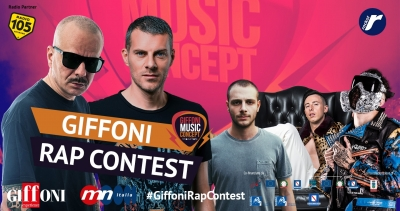 #GiffoniRapContest2019: the musical spin-off of the Giffoni Film Festival is back with the contest for rap, urban and trap artists selected by Don Joe, Max Brigante, Anastasio, Shade and Junior Cally
