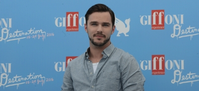 Nicholas Hoult discloses himself to the Giffoni Film Festival Youth