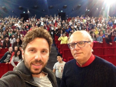 """IDEAS, AMBITIONS AND CURIOSITY WITH WHICH YOU ENRICH YOUR DREAMS COUNT"": DIRECTOR GUBITOSI TALKS TO STUDENTS AT THE MOVIE DAYS"