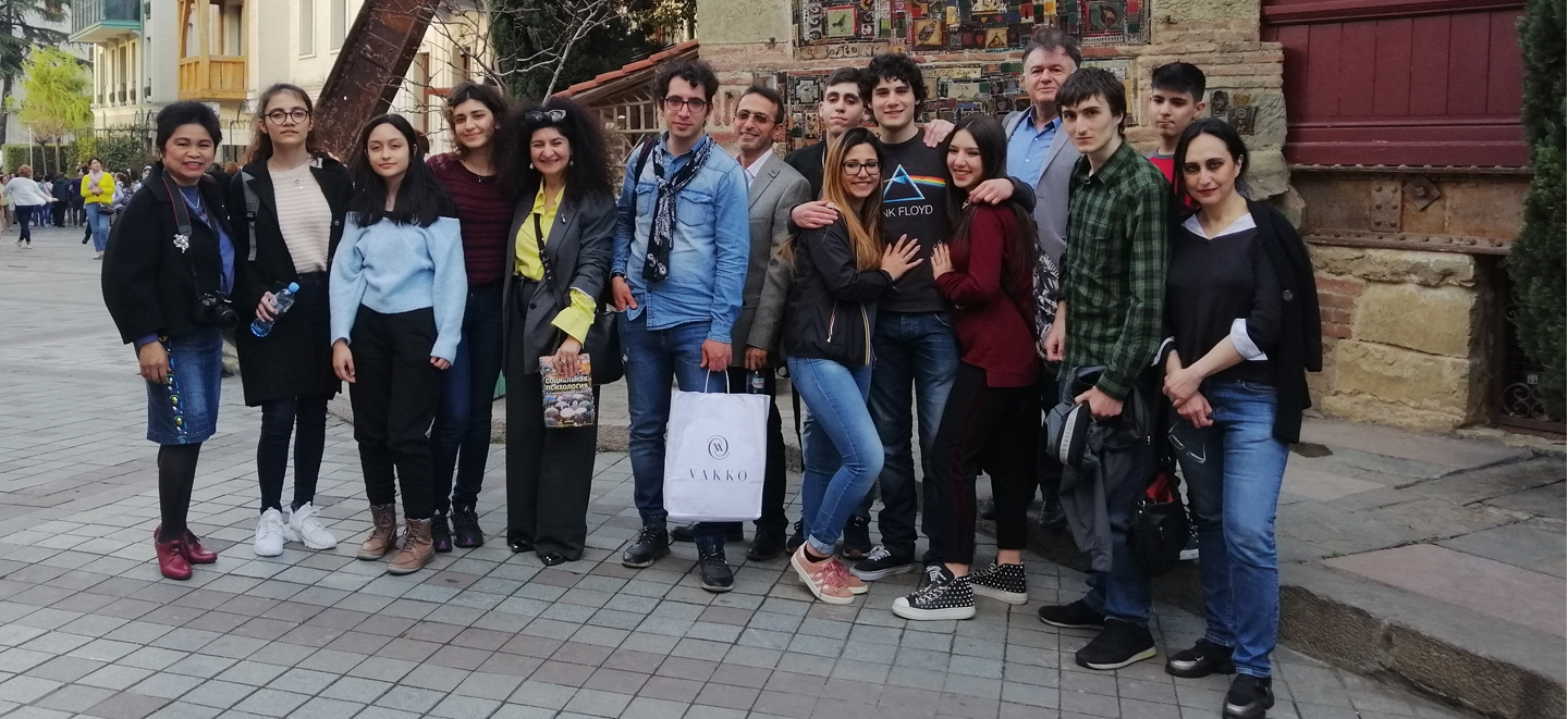 """Festivals change lives"": the diary of the three giffoners returning from the Taoba International Youth Film Festival in Tbilisi"
