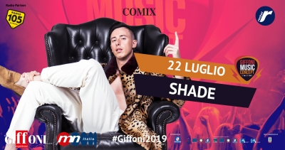 Shade arriving at #Giffoni2019 on July 22nd