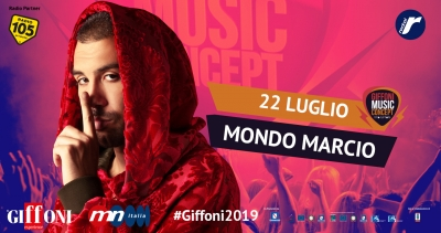 Mondo Marcio at the Giffoni Music Concept – Vivo Giffoni on July 22nd