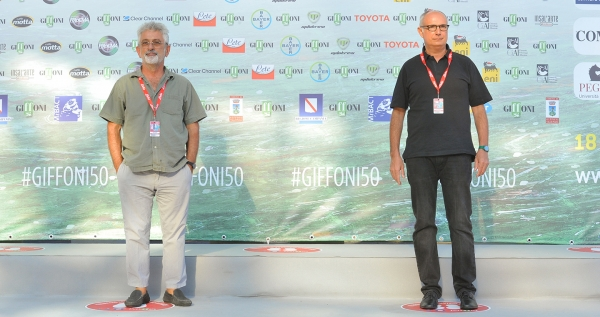 """Giffoni is a unique experience"": Nick Vivarelli and Fabrizio Laurenti, protagonists at Masterclass Cult"