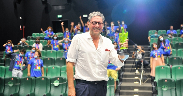 "Sergio Castellitto at #Giffoni50: ""Thank you, guys, the time spent with you is valuable"""
