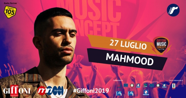 Vivo Giffoni - Giffoni Music Concept, Mahmood will close #Giffoni2019
