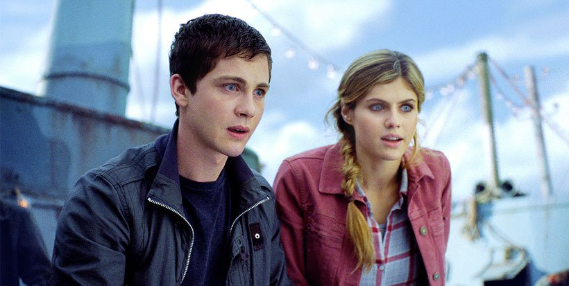 Logan Lerman and Alexandra Daddario at GFF 2013