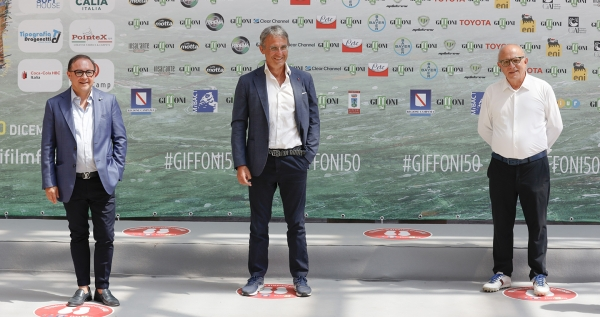 "#Giffoni50, the day of Ministro Costa: ""Here there is a school to remain young forever"""