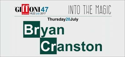 Bryan Cranston to visit the Festival on 20 July: he will receive the Giffoni Experience Award