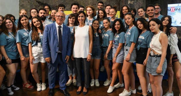 "The return of Mara Carfagna: ""Gubitosi is a precious man and Giffoni a model to export: it gives youth opportunities and enhances the new generation"""