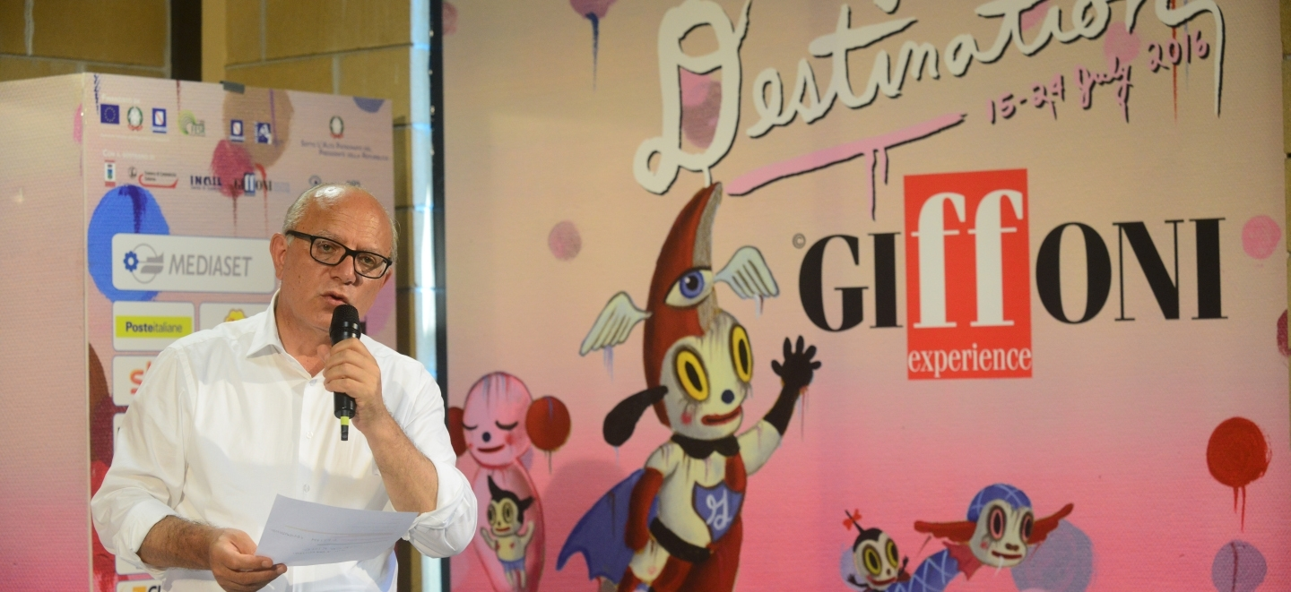 "Giffoni 2016, Gubitosi: ""This record edition will give the crowdfunding the go-ahead. The festival will belong to..."