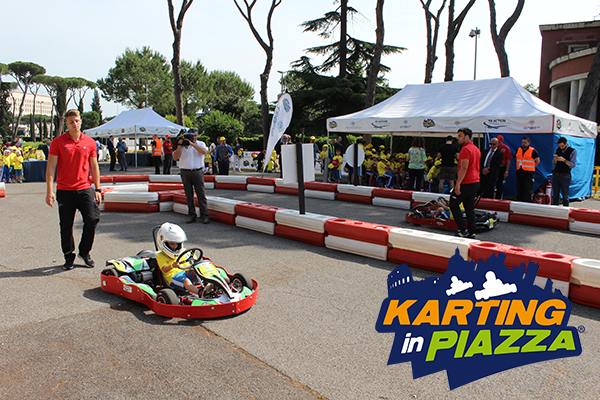 karting in piazza sito