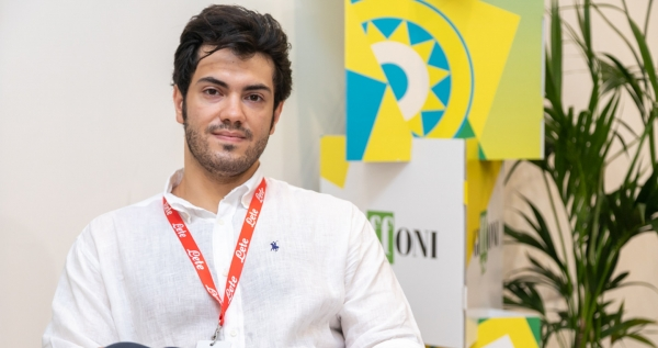 Domenico Benvenuto e la sua startup anti-Covid 19, in collaborazione con Giffoni Innovation Hub