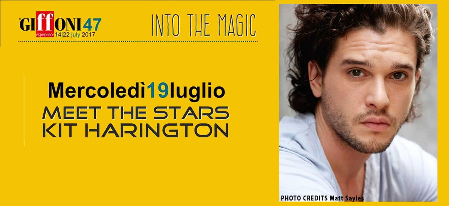 Meet The Stars Kit Harington, ticket disponibili da oggi