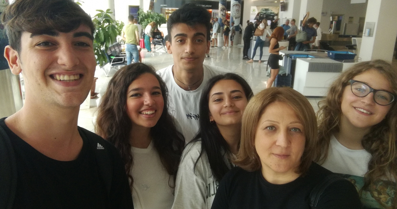 Sei giffoners in viaggio per l'Azerbaijan per il Salam International Youth Film Festival