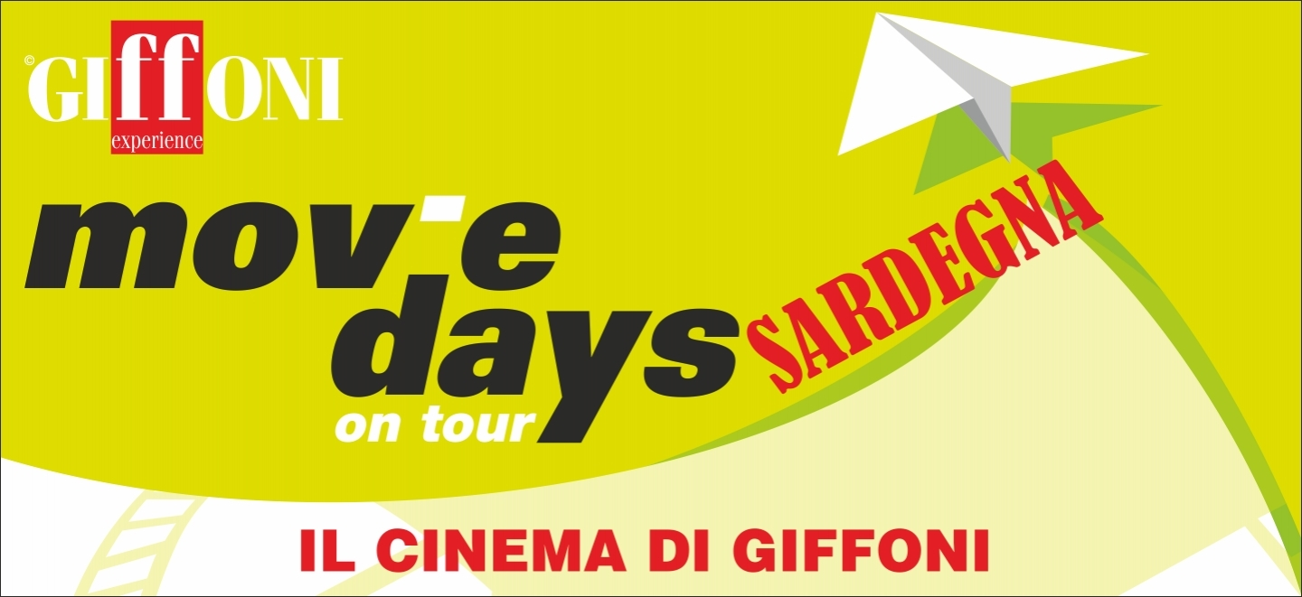 I Movie Days on Tour tornano in Sardegna per il 16esimo anno consecutivo