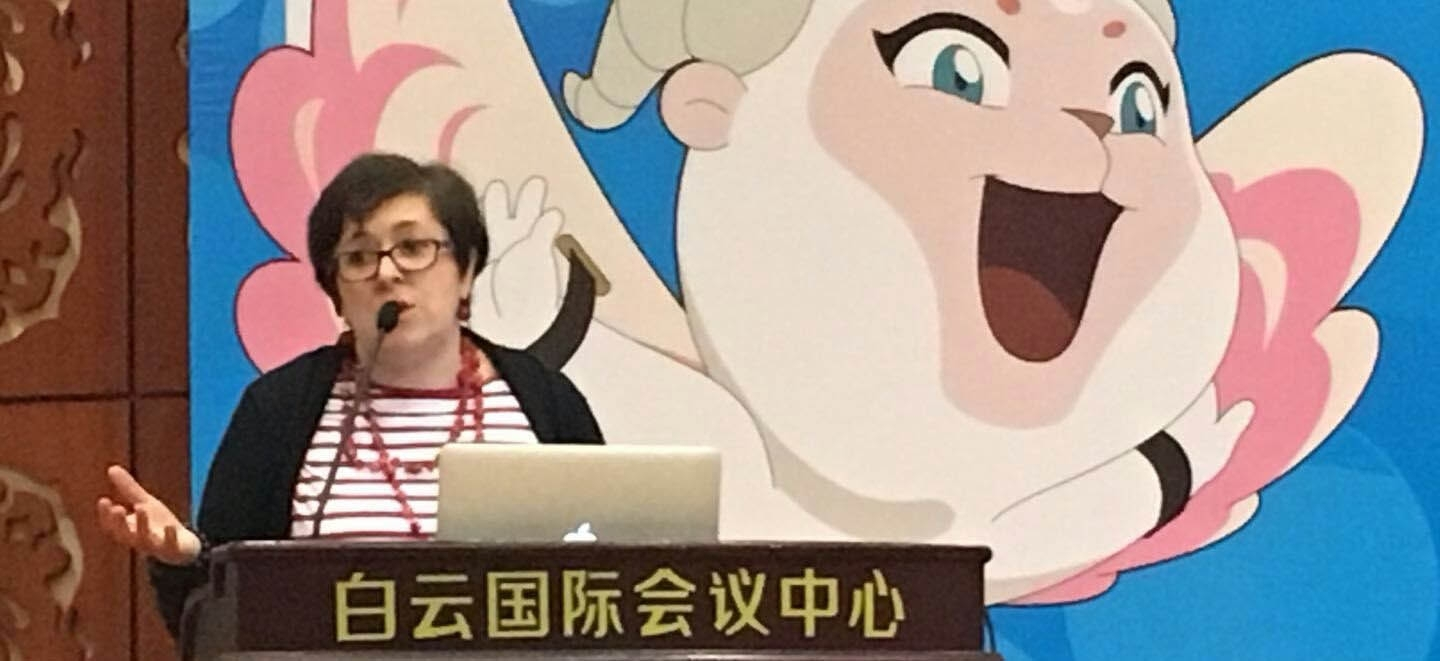 Giffoni Education: la vicedirettrice Antonia Grimaldi al China International Children's Film Festival